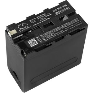Sony CCD-RV100 akku 6600 mAh