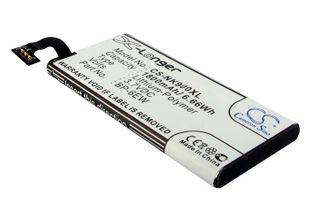 Nokia Lumia 900 - BP-6EW yhteensopiva akku 1800 mAh