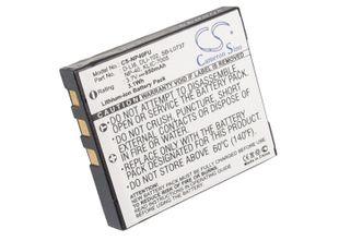 Fujifilm NP-40 / Pentax D-Li8 / Samsung SB-L0737 akku 850 mAh