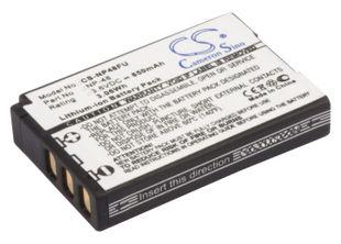 Fujifilm XQ1 / XQ2 / NP-48 akku 850 mAh