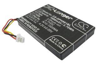 Opticon OPL-9714, OPL-9715, OPL-9725 akku 1000mAh