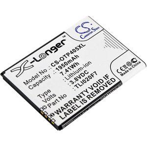 Alcatel One Touch 4 .50 / Pixi 4 5 puhelimen akku 1950 mAh