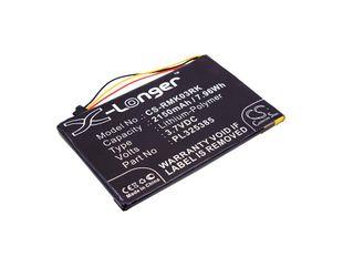 Razer RZ03-0133, RZ84-01330100, Turret Gaming Lapboard akku 2150mAh