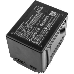 Sony PMW-400, PMW-500, PMW-EX330 akku 12800mAh