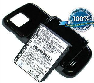 Samsung GT-I8000, GT-I8000H tehoakku laajennetulla takakannella 2000 mAh