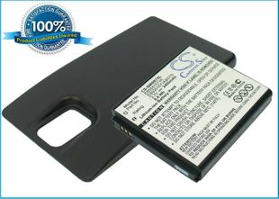 Samsung Galaxy S Infuse 4G, SGH-i997 yhteensopiva akku 2400 mAh laajennetulla takakannella