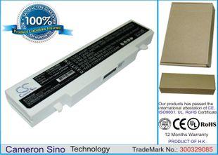 Samsung Q318,  R510,  R468, R710, R522 akku 4400 mAh Valkoinen