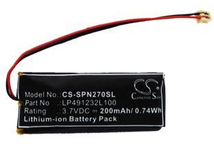 Sony PSP-N270 akku 200mAh / 0.74Wh