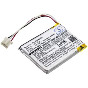 Sony MDR-XB950N1, SRS-WS1, WH-CH700N akku 1000mAh / 3.70Wh