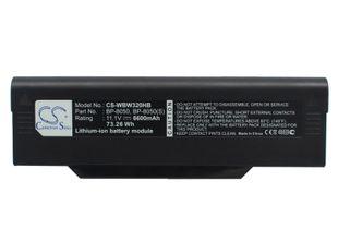 NEC Versa M540 akku 6600 mAh