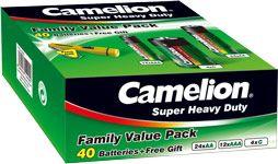 Camelion 40 kpl  Paristosetti + LED-avaimenperä
