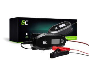 Green Cell Laturi 6V / 12V (4A) älykkäillä lataustoiminnoilla