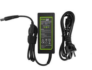 Green Cell 65W HP & Dell Laturi 19.5V 3.33A - Liitin 7.4*5.0