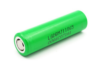 LG INR 18650 MJ1 Li-ion akku 3500 mAh Ilman suojapiiriä