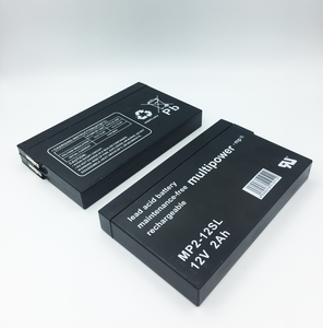 MultiPower MP2-12SL 12V 2Ah lyijyakku UPS- ja varakäyntijärjestelmiin T1