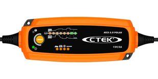 Ctek MXS 5.0 POLAR 5A 12V 1.2–110Ah laturi