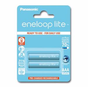 Panasonic Eneloop Lite R03/AAA 550mAh - 2 kpl