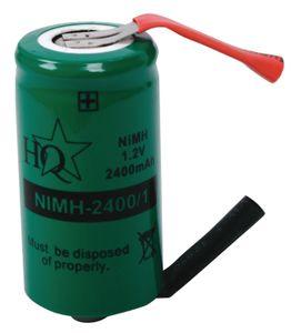 Akkupaketti NiMH 1.2 V 2400 mAh