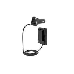 Devia iBox Autolaturi / hubi 4 x USB - musta