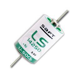 SAFT LS14250 1/2AA Lithium paristo 3.6V - Juotoskorvakkeilla