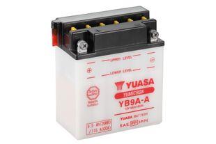 Yuasa YB9A-A 9Ah Yumicron Käynnistysakku
