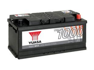 Yuasa YBX1017 12V 85Ah 770CCA CaCa Käynnistysakku