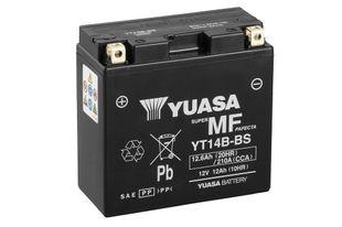 Yuasa YT14B-BS 12Ah Maintenance Free Käynnistysakku