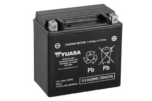 Yuasa YTX14L-BS 12Ah Maintenance Free Käynnistysakku