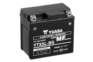Yuasa YTX5L-BS 4Ah Maintenance Free Käynnistysakku