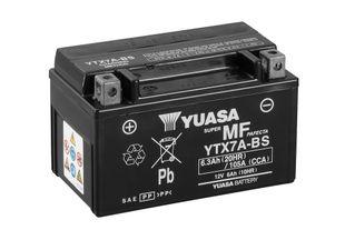 Yuasa YTX7A-BS 6Ah Maintenance Free Käynnistysakku