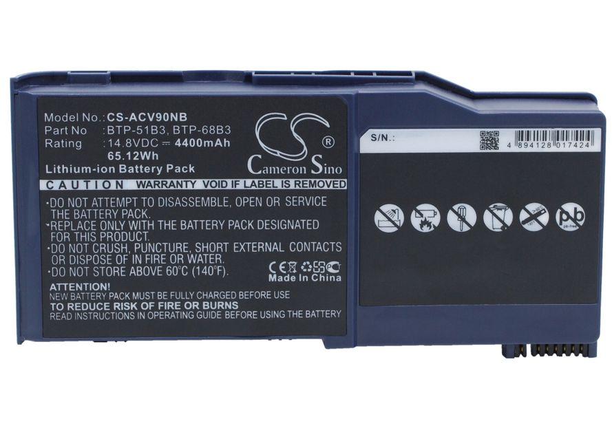 Acer Wistron AJ V90 akku 4400 mAh
