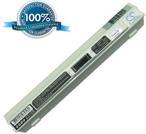 Acer Aspire One 531, Aspire One 751 akku 4400 mAh - Valkoinen