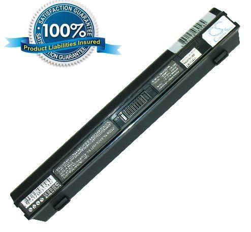 Acer Aspire One 531, Aspire One 751 akku 4400 mAh - Musta