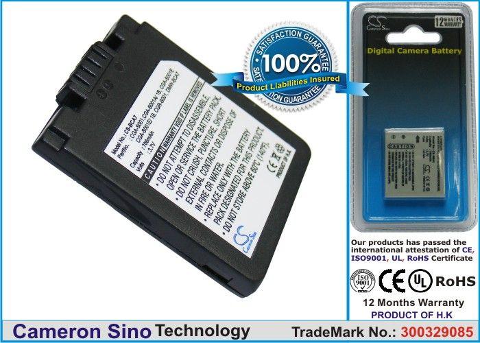 Panasonic CGA-S001, CGA-S001A/1B, CGA-S001E, CGA-S001E/1B, CGR-S001, DMW-BCA7 yhteensopiva akku 700 mAh