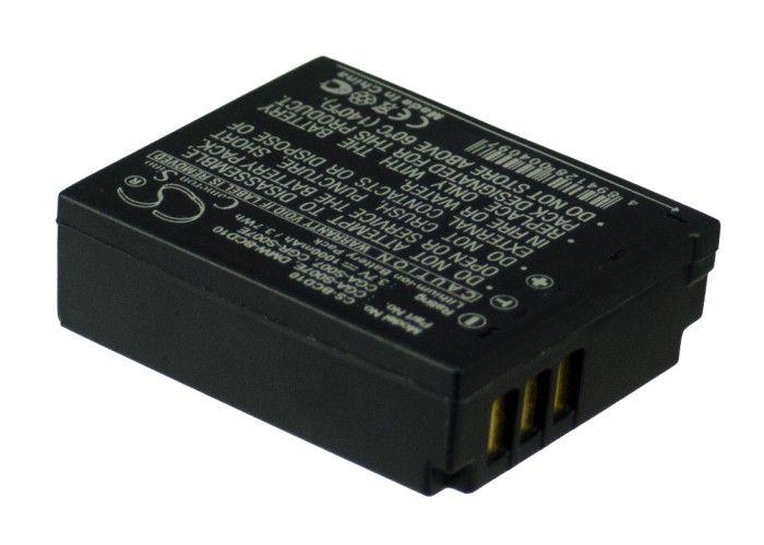 Panasonic CGA-S007, CGA-S007A/1B, CGA-S007E, CGR-S007E, CGR-S007E/1B, DMW-BCD10, CGA-S007A/B yhteensopiva akku 1000 mAh