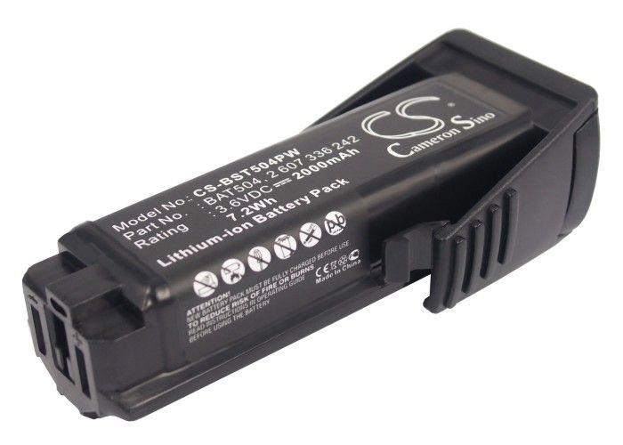 Bosch PS10 Li-ion 3,6 V akku 2000 mAh