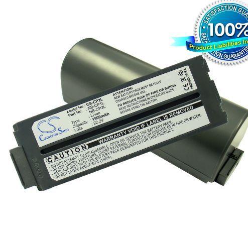 Canon NB-CP1L, NB-CP2L yhteensopiva akku 1200 mAh