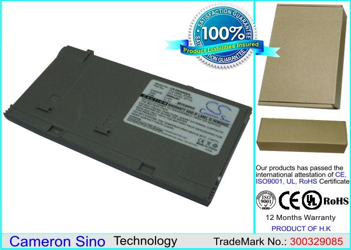 Dell Latitude D400 akku 3600 mAh