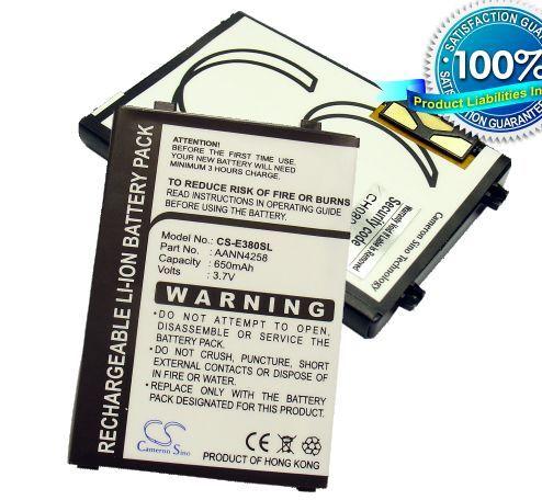 Motorola C256, C260, C266, C350, C350V, C353, C359, C359V, C450, C550, C651, E380 akku 650 mAh