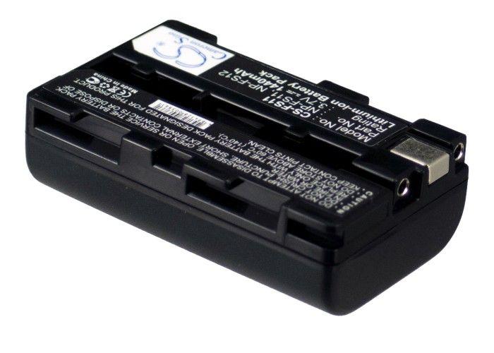 Sony NP-F10, NP-FS10, NP-FS11, NP-FS12 yhteensopiva akku 1440 mAh