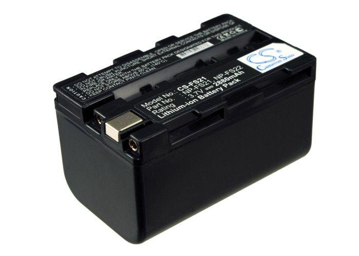 Sony NP-FS20, NP-FS21, NP-FS22 yhteensopiva akku 2880 mAh