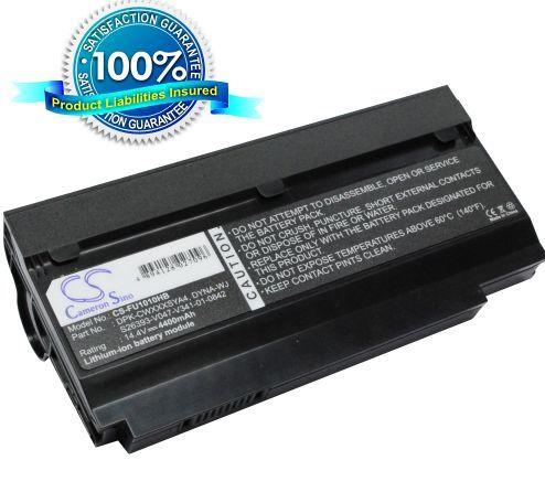 Fujitsu M1010, CWOAO, Lifebook M1010 akku 4400 mAh