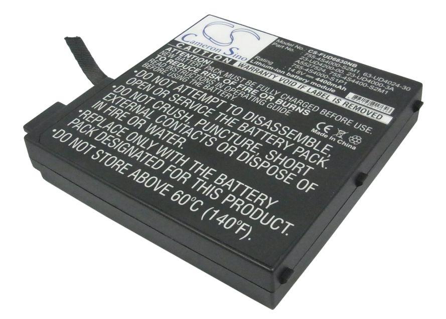 Fujitsu Amilo A7600, Amilo A7620, Amilo A8620, Amilo D6830 akku 4400 mAh
