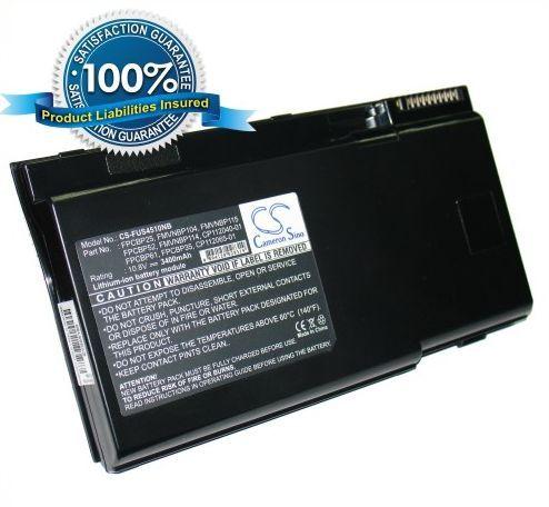 Fujitsu LifeBook S4510, LifeBook S4530, LifeBook S4540, LifeBook S4542, LifeBook S4545, LifeBook S4546, LifeBook S4560, LifeBook S4562, LifeBook S4572, LifeBook S5582, LifeBook S6010 akku 3400 mAh