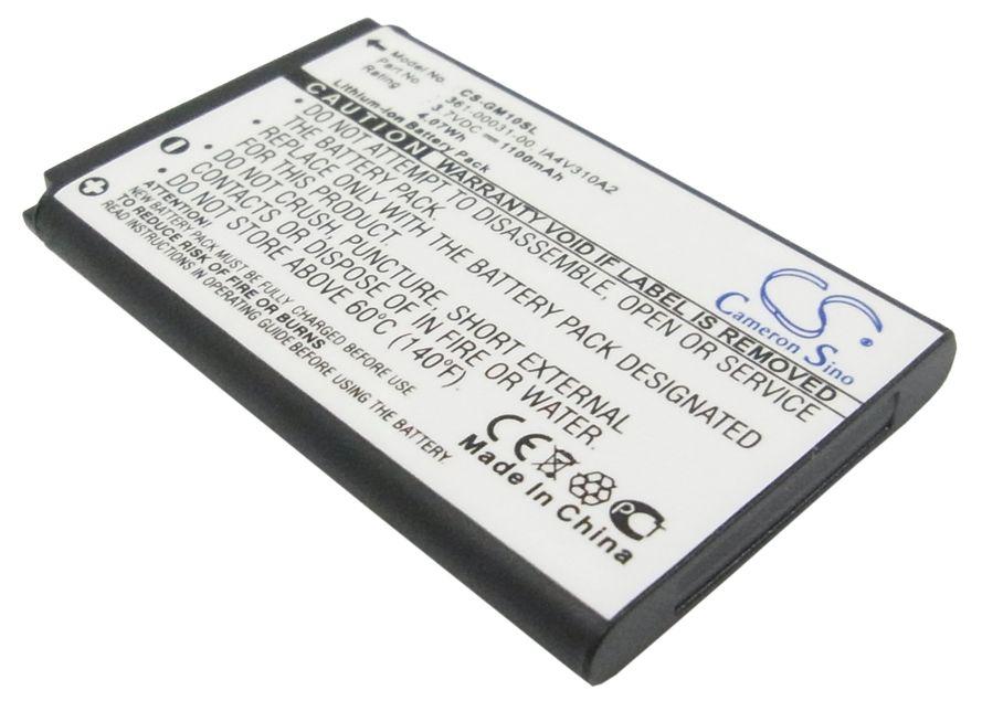 Garmin GPS Mobile 10, GPS Mobile 10x akku 1100 mAh