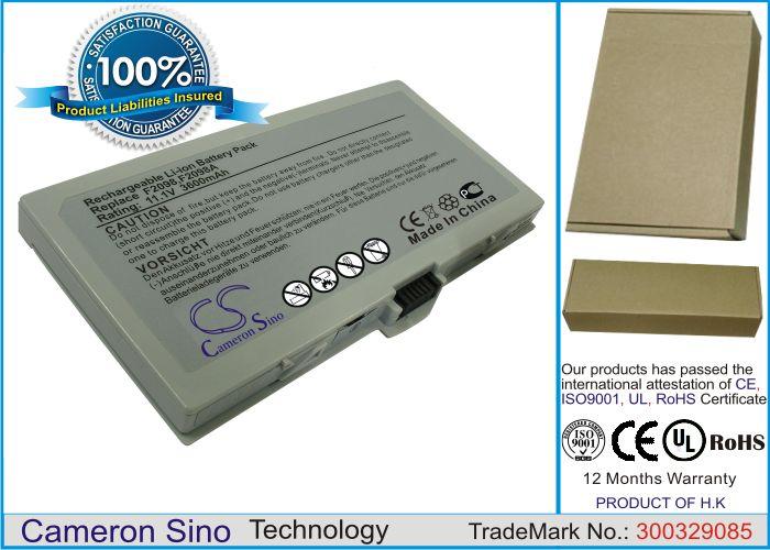 HP OmniBook 500, OmniBook 500B, OmniBook 510, OmniBook 5000, OmniBook 5100, Pavilion XU155, Pavilion ZU175, Pavilion ZU1155, Pavilion ZU1175 akku 3600 mAh
