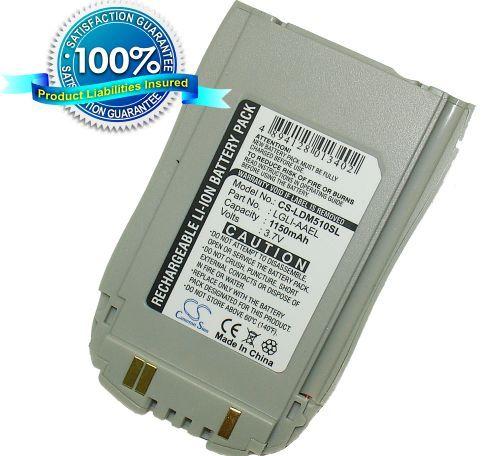 LG 510(CDMA), TOUCH POINT, TP1100, LG 510, TM-510, DM-510, SP-510, LG-510, TM 510, DM 510, SP 510, LG 510, LG DM510 akku 1150 mAh