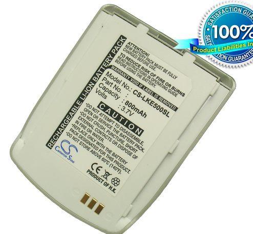 LG KE500, KE508, KE550 akku 800 mAh