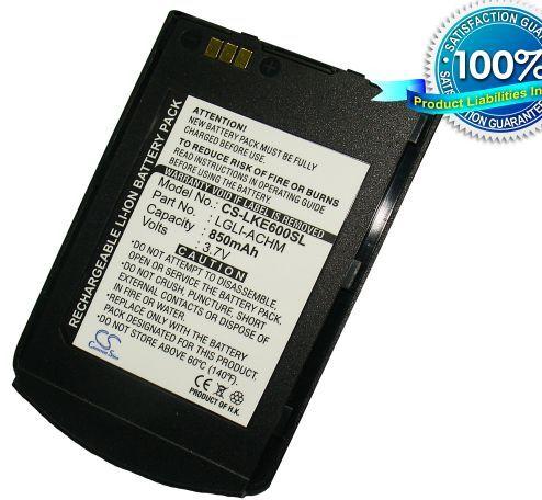 LG KE600, U400 akku 850 mAh