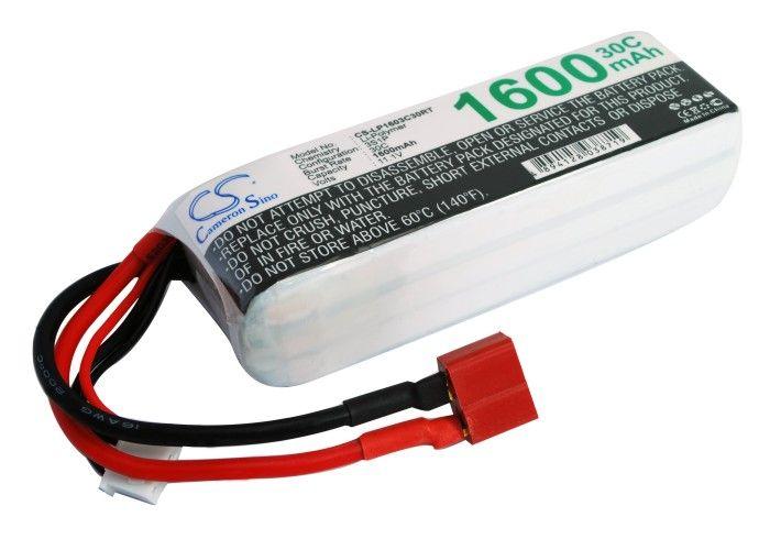 Li-Po akku, 1600mAh, 11,1V, 30C